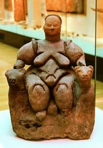 Frauenstatuette aus Çatalhöyük