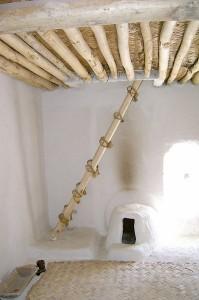Ein Innenraum aus der Siedlung Çatalhöyük